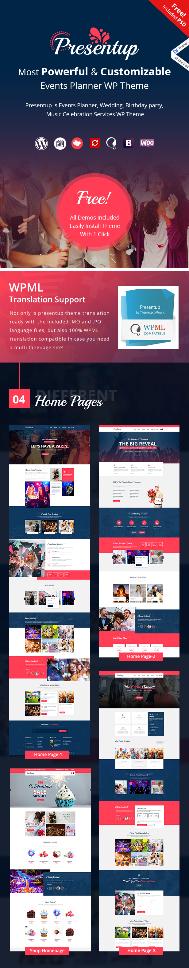 Presentup WordPress Theme